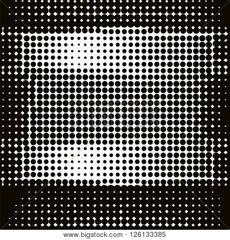 Halftone Pattern. Halftone Dots. Dots on White Background. Halftone Texture. Halftone Dots. Halftone Effect