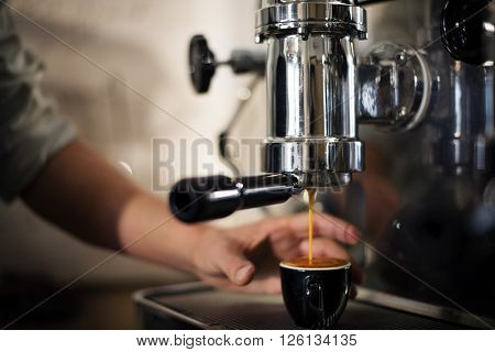 Barista Coffee Brewing Grind Professional Concept