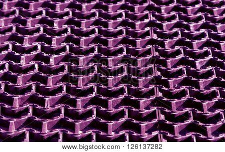 Plastic Purple Floor Cover Texture.
