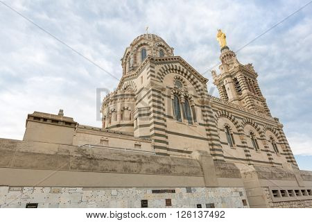 Marseille Notre-Dame de la Garde Church Provence France