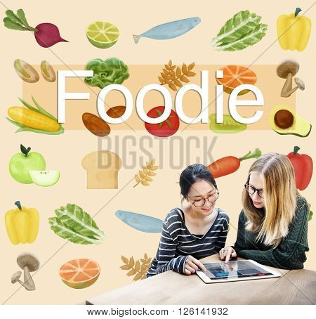 Foodie Cuisine Culinary Culture Fresh Garnish Concept