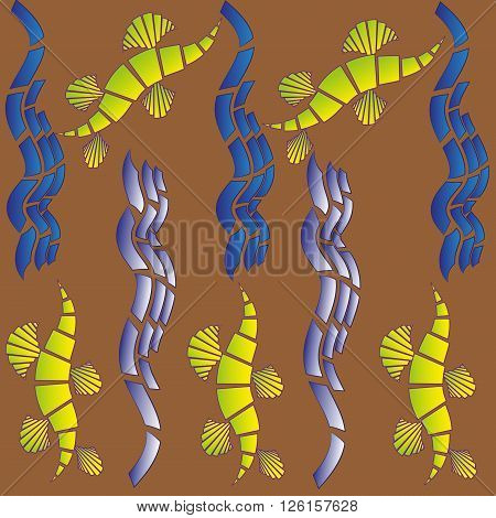 Image of the original abstract texture
