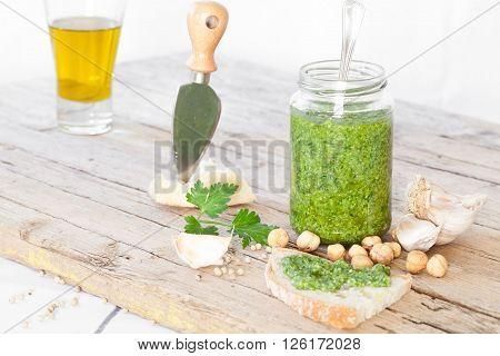 Fresh Homemade Pesto