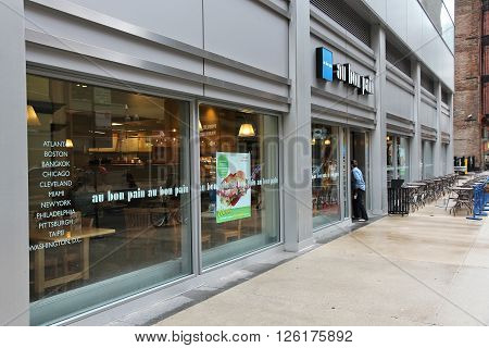 Au Bon Pain Bakery