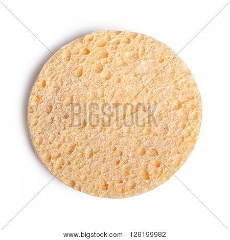 Cosmetic sponge isolated on white background