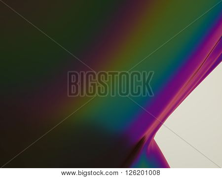 Beautiful iridescent liquid viscous substance. Stock illustration