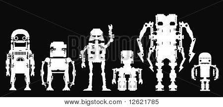 Cyber-robots.