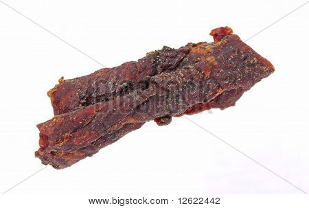 Beef Jerky At An Angle