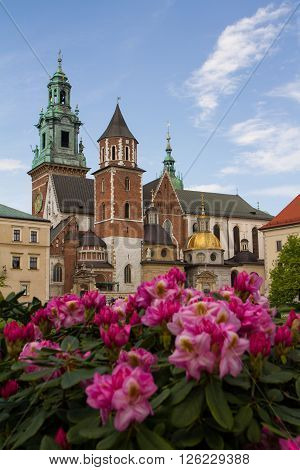 Wavel Castle And Cathedral Of St. Wenceslas And Stanislaus