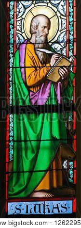 Stained Glass - Saint Luke The Evangelist
