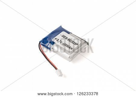 Silver Flat Battery Pack