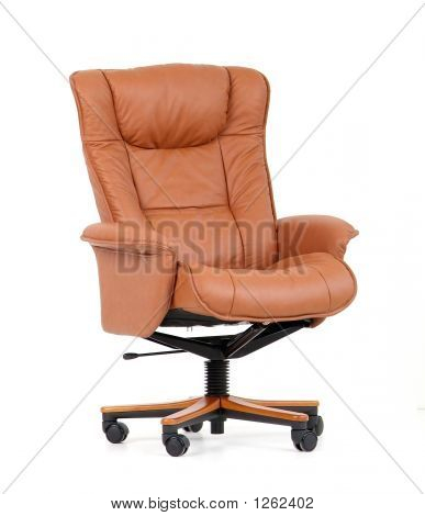 Brown Luxury Office Chair