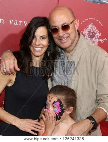 LAS VEGAS - APR 17:  Joyce Varvatos, Thea Varvatos, John Varvatos at the John Varvatos 13th Annual Stuart House Benefit at the John Varvatos Store on April 17, 2016 in West Hollywood, CA