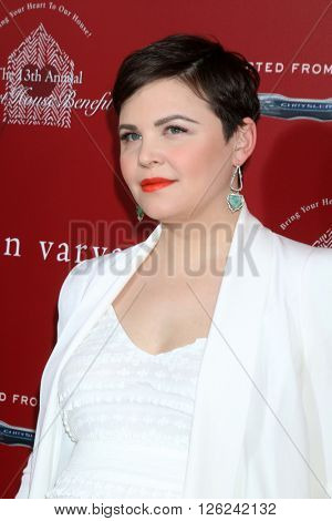 LAS VEGAS - APR 17:  Ginnifer Goodwin at the John Varvatos 13th Annual Stuart House Benefit at the John Varvatos Store on April 17, 2016 in West Hollywood, CA