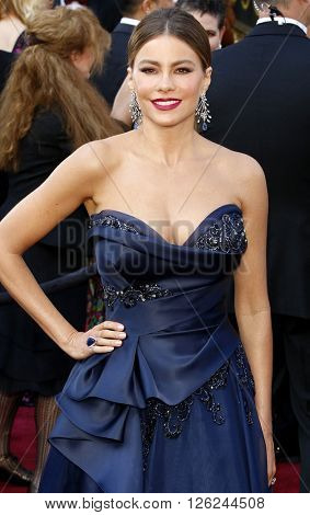 Sofia Vergara at the 88th Annual Academy Awards held at the Dolby Theatre in Hollywood, USA on February 28, 2016.