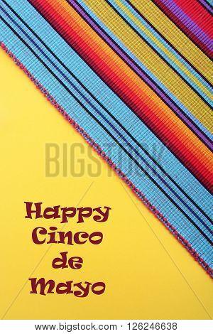 Cinco De Mayo Festive Background.