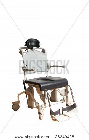 4 wheel wheelchair for disposable people and olders