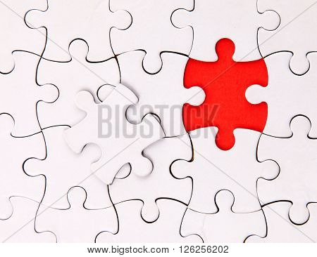 There is no one element , blank, puzzle