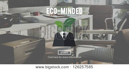 Eco-Minded Green Business Concept
