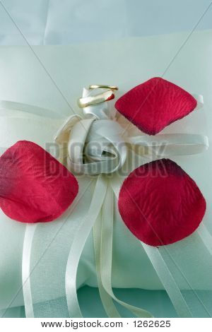 Rose Petals And Rings