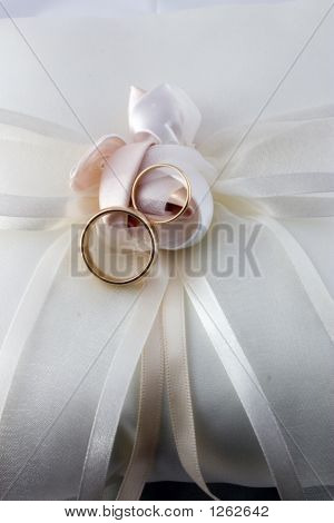 Rings And Pillow