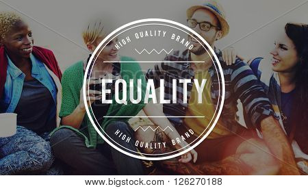 Equality Fair Parity Respect Balance Equal Fairness Concept