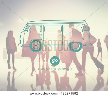 Car Transportation Traveling Vehicle Trip Concept