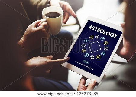 Astrology Horoscope Zodiac Sign Concept