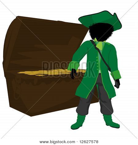 African American Teen Pirate