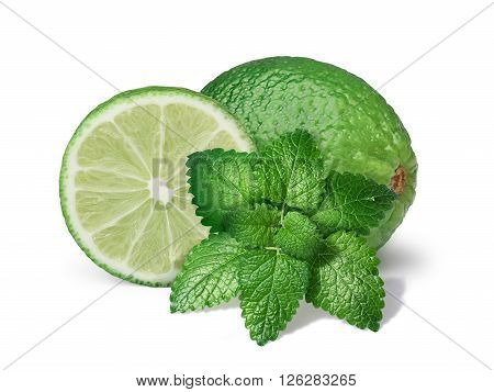 Mint Balm With Limes