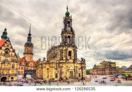 Dresden Cathedral of the Holy Trinity - Germany, Saxony