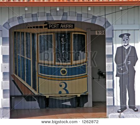 Port Ahuriri Tram
