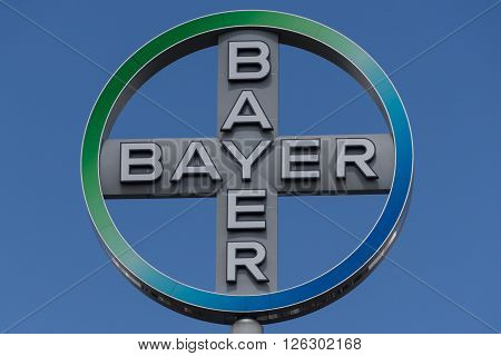 Bayer Logo /  Emblem Of Bayer Ag