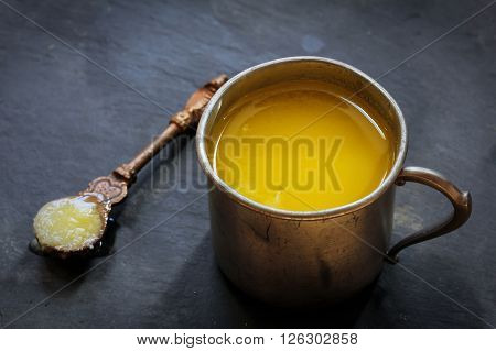 Ghee or clarified butter - common ingredient in Indian cooking