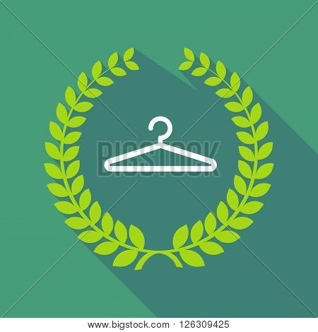 Long Shadow Laurel Wreath Icon With A Hanger