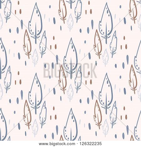 Quill Seamless Pattern