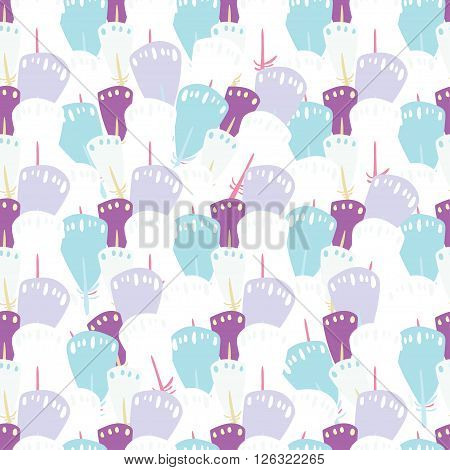 Quill Seamless Pattern For Paper And Fabric Design