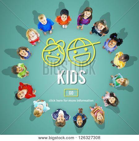 Kids Children Offspring Generation Life Concept