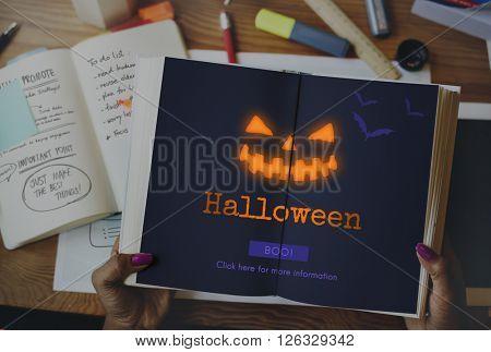 Jack O' Lantern Halloween Symbol Concept