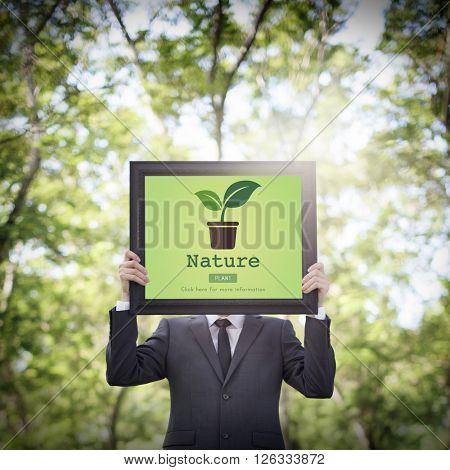 Nature Plant Ecology Environmental Conservation Concept