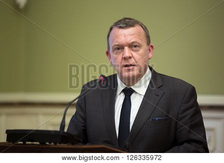 Prime Minister Of The Kingdom Of Denmark Lars Lokke Rasmussen