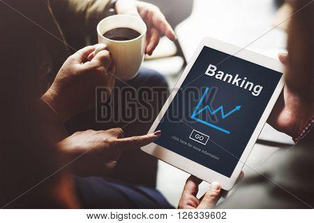 Banking Finance Financial Statement Concept