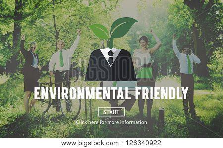 Environmental Friendly Business Suit Concept