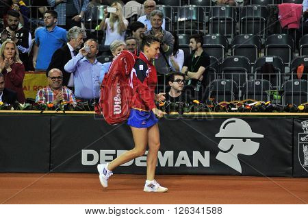 Women Tennis Player Simona Halep