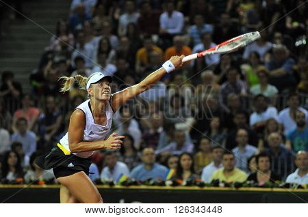 Tennis Woman In Action