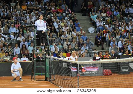 Tennis Referee, Chair Umpire