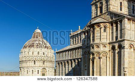 Piazza Dei Miracoli View