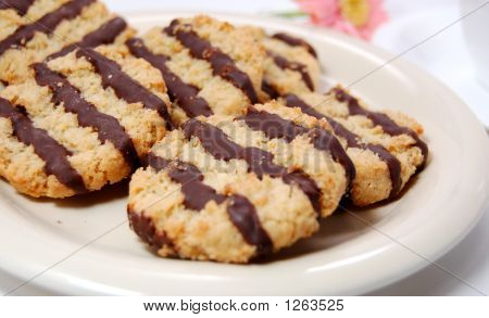 Oat Biscuit With Chocolate