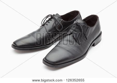 Black Leather Mens Shoes