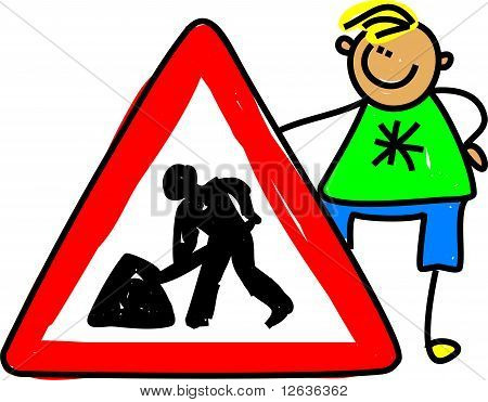 Traffic Sign Kid